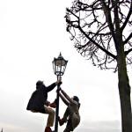 Akrobatik-Réverbère